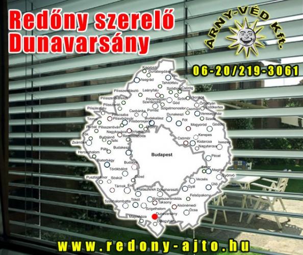 Redőnyök készítése, szerelése kizárólag minőségi anyagokból Dunavarsányban.