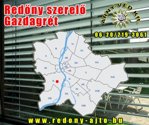 Redőnyök készítése, szerelése csak magas minőségű alapanyagokból Gazdagréten.