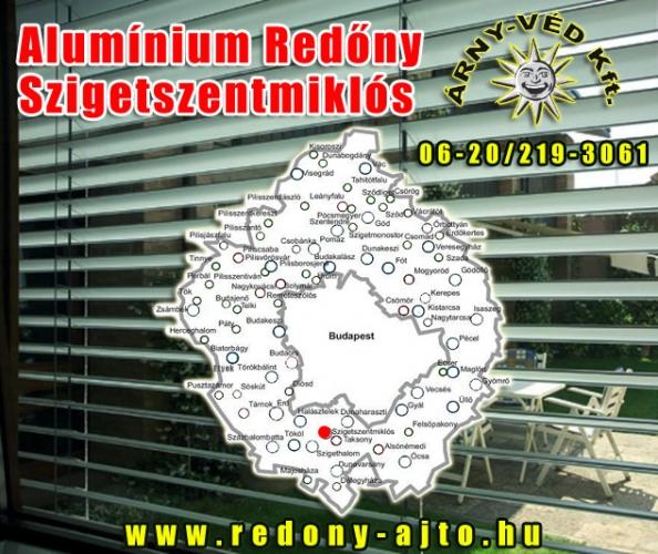 Alumínium redőnyök készítése, szerelése csak magas minőségű anyagokból Szigetszentmiklóson.