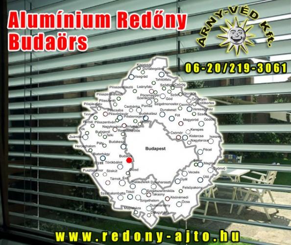 Alumínium redőnyök készítése, szerelése csak minőségi anyagokból Budaörsön.