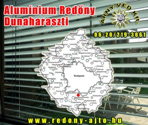 Alumínium redőnyök szerelése, készítése csak minőségi anyagokból Dunaharasztiban.