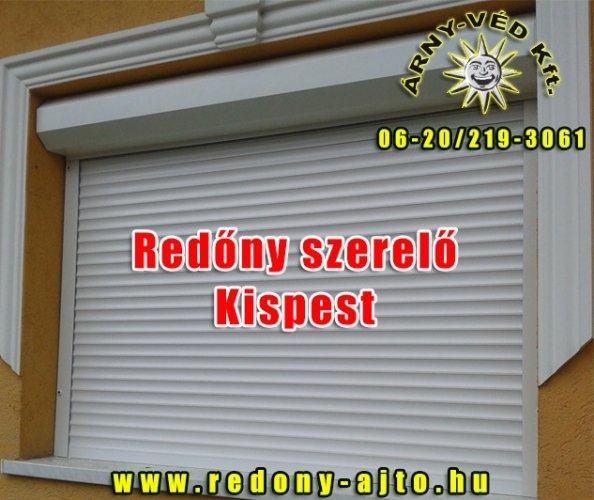 Redőny szerelés, készítés, javítás Kispesten.